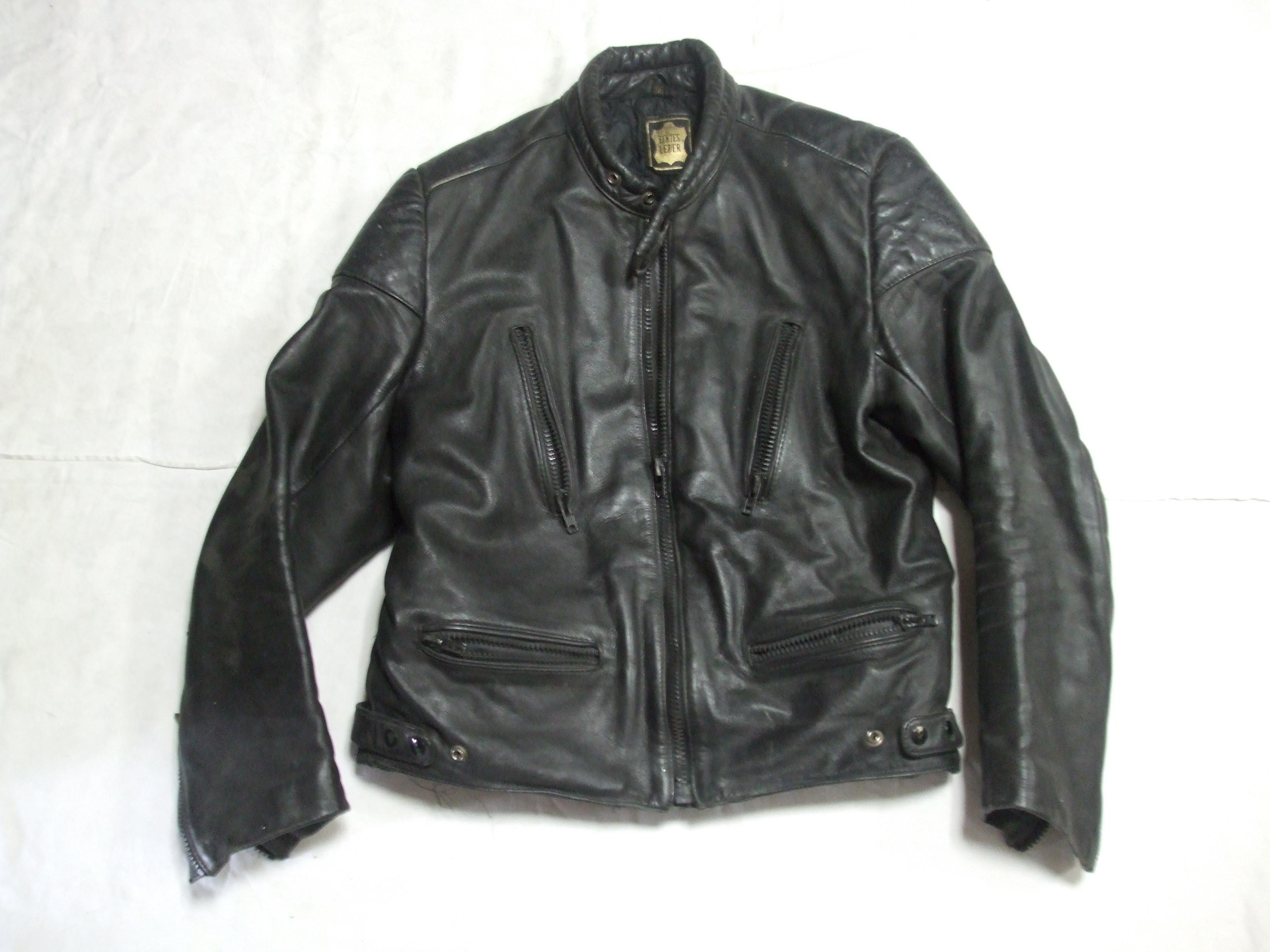 093c191ed759 Moto kožená bunda ECHTES veľkosť 56 č. 1840