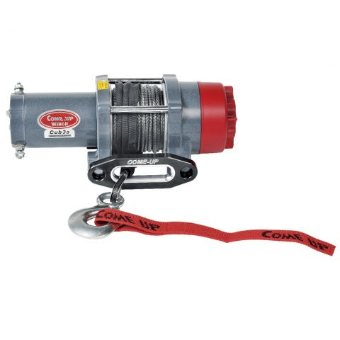 COMEUP Cub 3s 12V STD, 3000lbs, synthetic rope