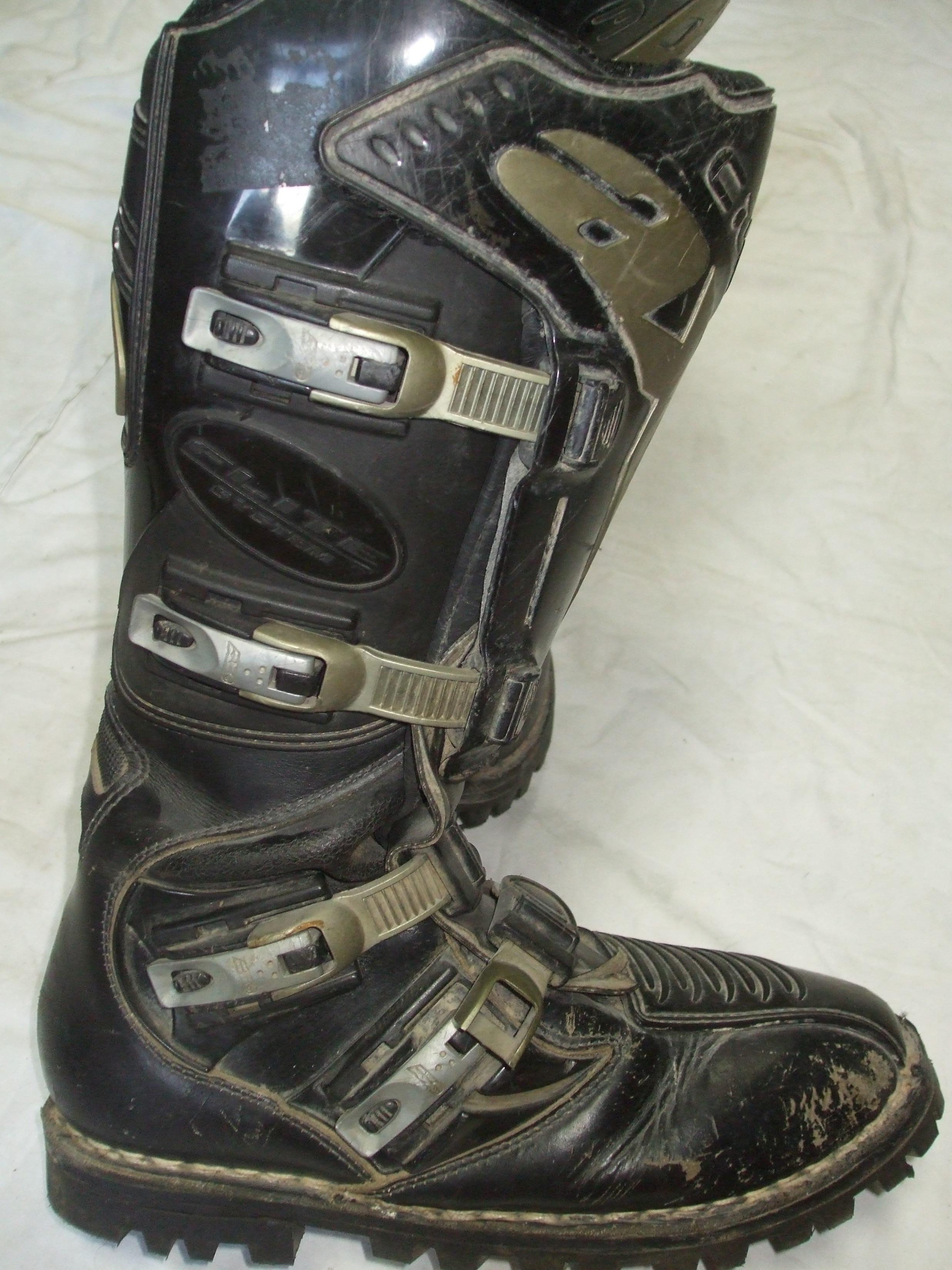 ca26aca97f Moto crossové topánky veľ.43