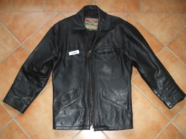55831e0e8ee Kožená bunda čierna
