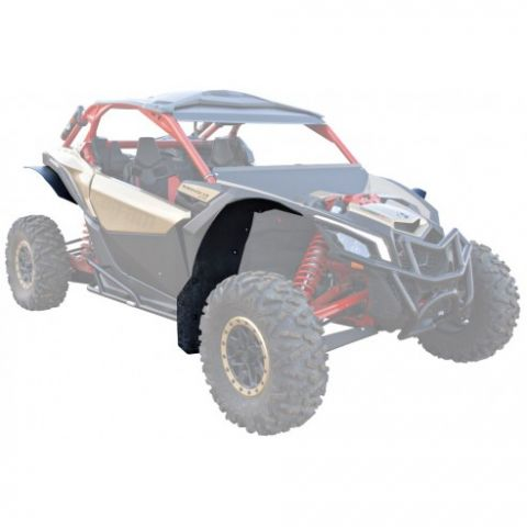 KIT MUD FLAPS - Material: PHD - Can Am Maverick X3 XRS