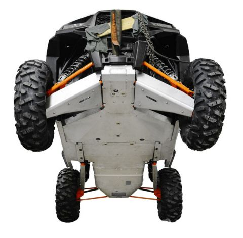Ricochet ATV Polaris RZR XP 1000, Skidplate Set