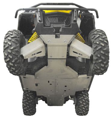 Ricochet ATV Can-Am Commander SSV, Skidplate set
