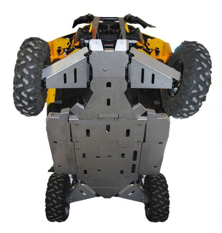 Ricochet ATV Can-Am Maverick X-XC 2014-15 Complete Skidplate Sett