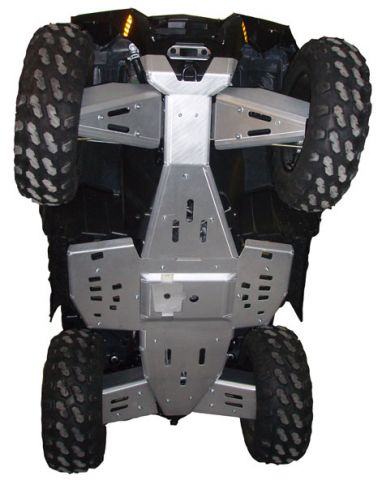 Ricochet ATV Polaris Sportsman 550/850 XP Touring 2013-2014, Complete Skid Plat