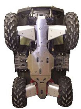 Ricochet ATV Polaris Sportsman 700/800 03-09, Skidplate Set