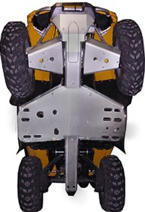 Ricochet ATV Can-Am Outlander 800 X-XC 2011, Skidplate set