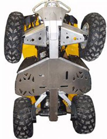 Ricochet ATV Can-Am Renegade 2010-2011, Skidplate set