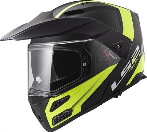 LS2 FF324 METRO RAPID MATT BLACK YELLOW P/J