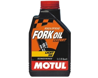 MOTUL FORK Oil Expert Light 5W olej do tlmičov