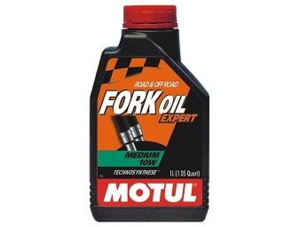 MOTUL FORK Oil Expert Medium 10W 1L olej do tlmičov
