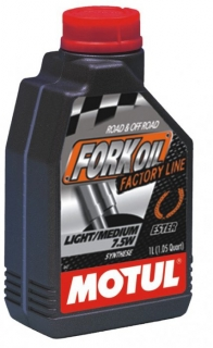 MOTUL FORK OIL Factory Line light/medium 7,5W 1L olej do tlmičov