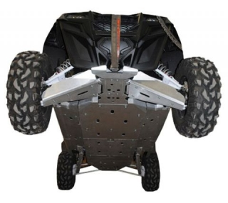 Ricochet ATV Polaris RZR 4seat 900, Skidplate Set
