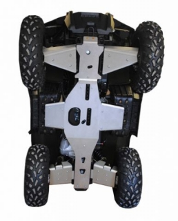 Ricochet ATV Polaris Sportsman 800 10-14, Skidplate set