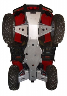 Ricochet ATV Polaris RZR S model 08-14, Skidplate set