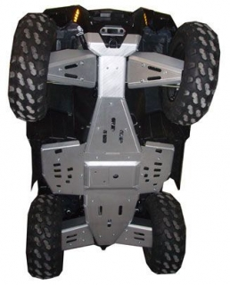 Ricochet ATV Polaris XP550/850 2010/2011, Skidplate set with floorboard plates
