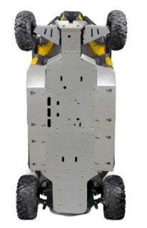 Ricochet ATV Can-Am Commander MAX, Skidplate set