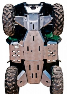 Ricochet ATV Yamaha Grizzly 700 2014, Skidplate set