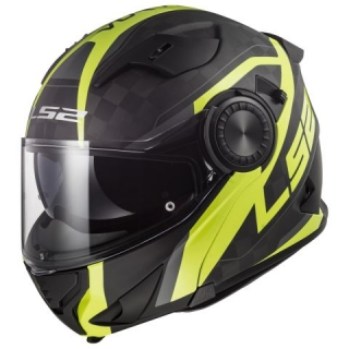 LS2 FF313 VORTEX FRAME CARBON HI VIS YELLOW